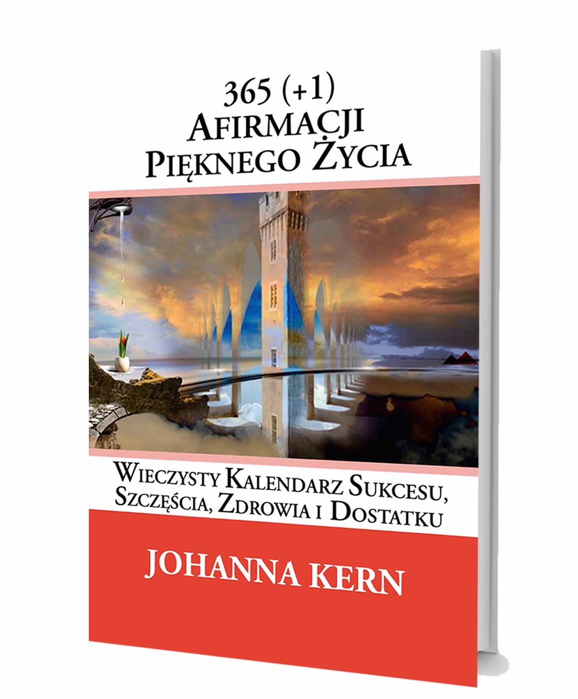 """""""365 (+1) Afirmacji Pięknego Życia"""" panorama książki"""