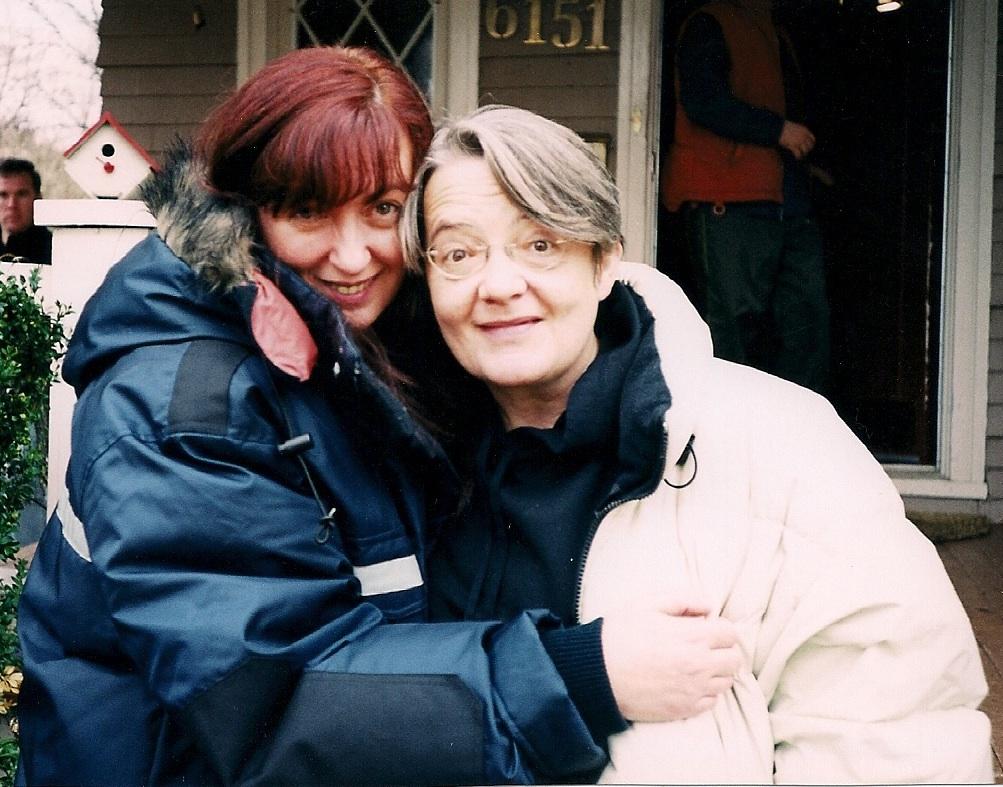 Reżyserzy: Johanna Kern (z lewej) i Agnieszka Holland