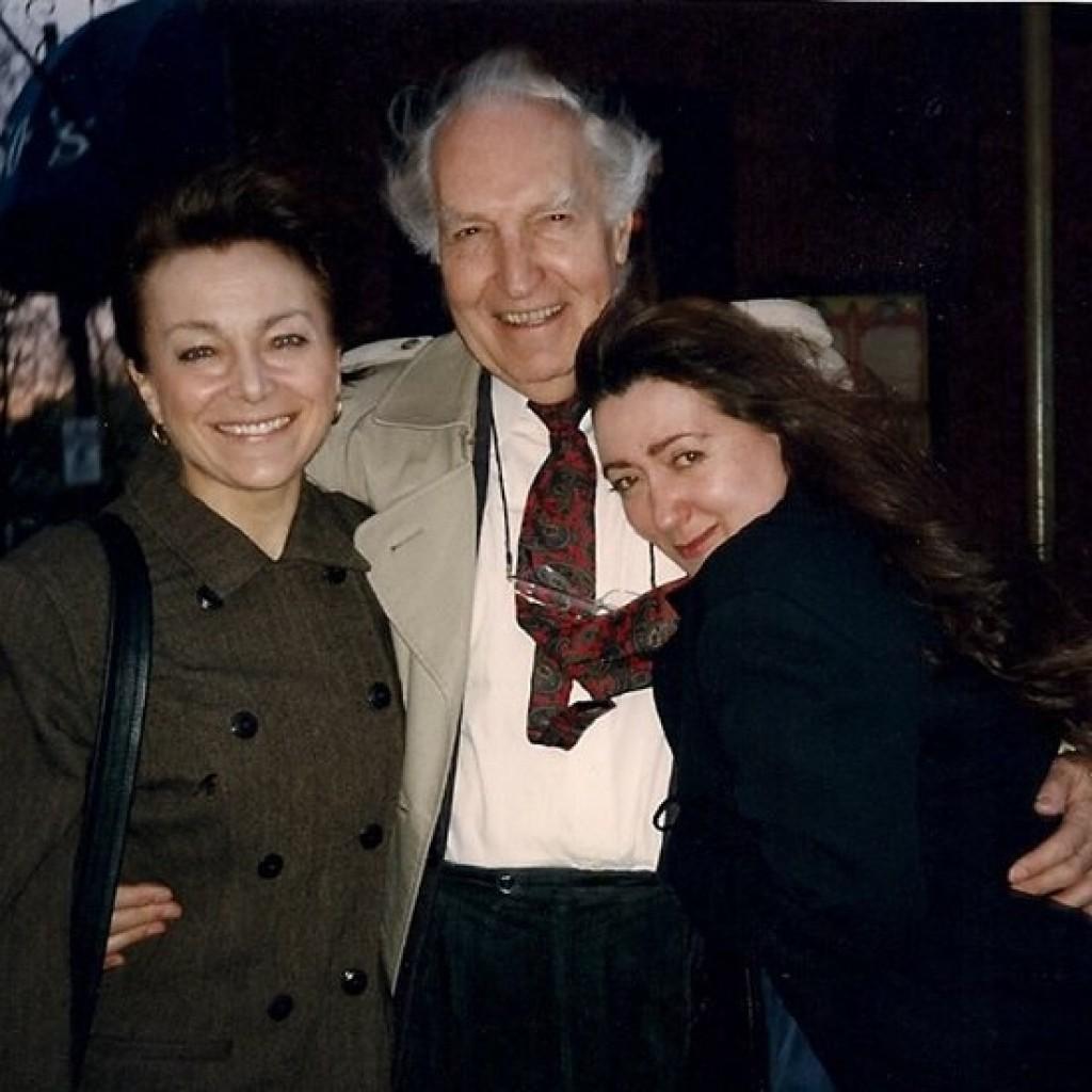 Johanna Kern i Irena Jarocka i Gerald Pratley