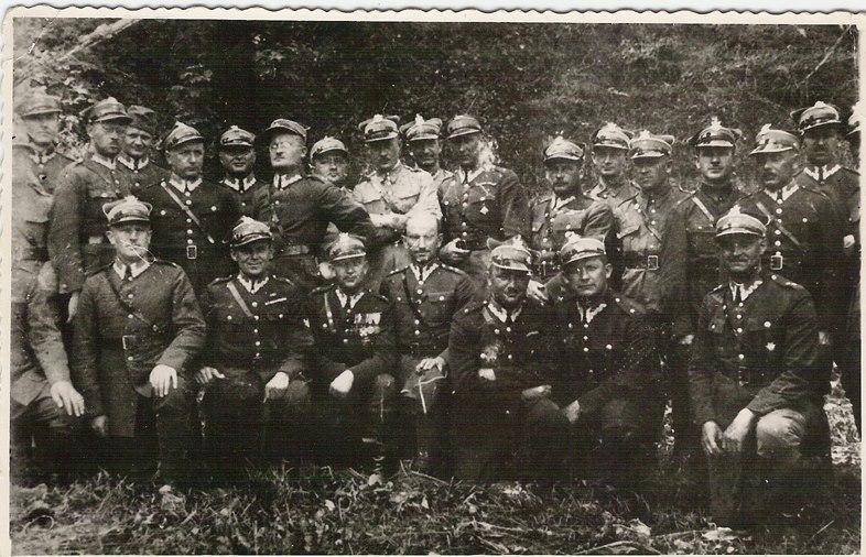 Johanna Kern  - z prywatnej kolekcji: dzieciństwo: Dziadek ze swoimi żołnierzami - Legiony
