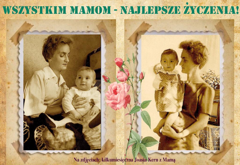 Johanna Kern  - z prywatnej kolekcji: Karteczka na Dzień Matki