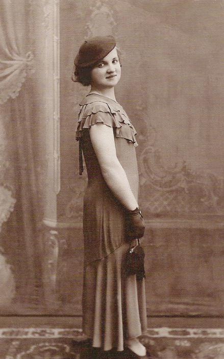 Johanna Kern  - z prywatnej kolekcji: dzieciństwo - Babcia