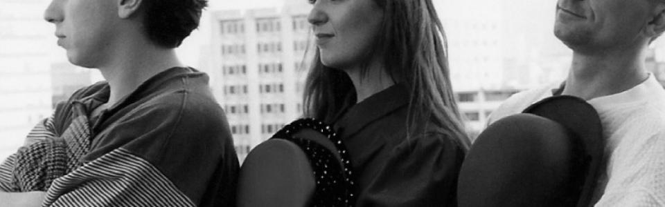 Johanna Kern – z czasów radiowych: sesja zdjęciowa z kolegami Zbyszkiem Świderskim i Piotrem Prusińskim