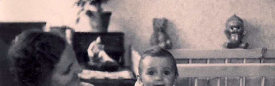 Johanna Kern  - z prywatnej kolekcji: dzieciństwo - z Babcią