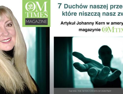 7 Duchów naszej przeszłości, które niszczą nasz związek – artykuł Johanny Kern w amerykańskim magazynie OMTimes