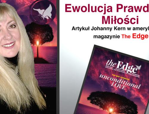 """Ewolucja Prawdziwej Miłości – artykuł Johanny Kern w amerykańskim magazynie """"The Edge"""""""