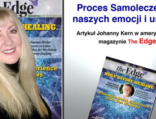 """Proces samoleczenia naszych emocji i umysłu – artykuł Johanny Kern w amerykańskim magazynie """"The Edge"""""""